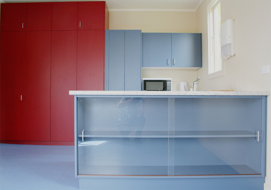 Gs early childhood education centre katipodesign for Kitchen design dunedin